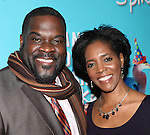 Phillip Boykin & Felicia Richardson Boykin attending the Broadway Opening Night Performance after party for  'Vanya and Sonia and Masha and Spike' at the Gotham Hall in New York City on 3/14/2013.