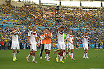 Germany team group (GER), JULY 4, 2014 - Football / Soccer : Germany players celebrate after winning the FIFA World Cup Brazil 2014 quarter-finals match between France 0-1 Germany at Estadio do Maracana in Rio de Janeiro, Brazil. (Photo by FAR EAST PRESS/AFLO)