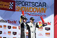 IMSA WeatherTech SportsCar Championship<br /> Advance Auto Parts SportsCar Showdown<br /> Circuit of The Americas, Austin, TX USA<br /> Saturday 6 May 2017<br /> 3, Chevrolet, Corvette C7.R, GTLM, Antonio Garcia, Jan Magnussen<br /> World Copyright: Richard Dole<br /> LAT Images<br /> ref: Digital Image RD_COTA_17349