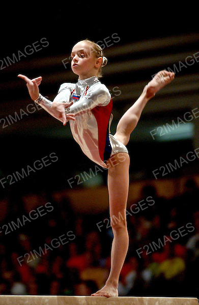 European Championships Amsterdam Holland. 2004. Junior & Senior Championships ...Photos by Alan Edwards..www.f2images.co.uk.Official Photographer British Gymnastics