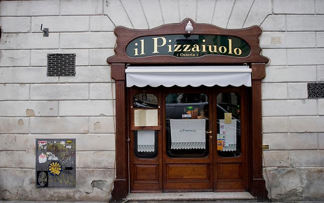 Exterior, II Pizzaiuolo Restaurant, Florence, Italy