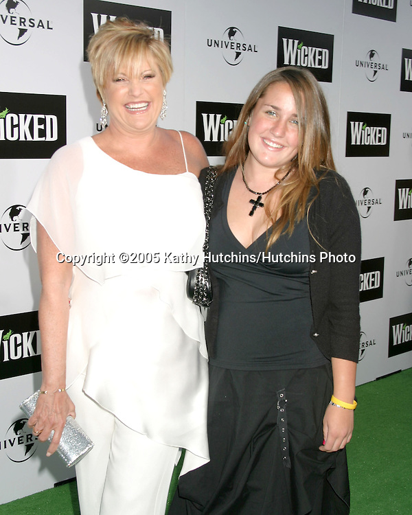 """Lorna Luft and daughter.""""Wicked"""" Play Opening.Pantages Theater.Los Angeles, CA.June 22, 2005.©2005 Kathy Hutchins / Hutchins Photo"""