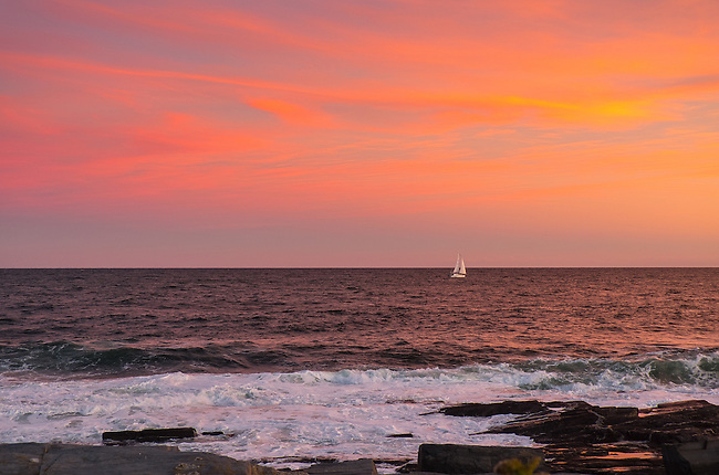 Sunset, Cape Elizabeth, Maine, Oct. 3,4, 2015