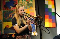 El Sueno Existe Festival<br /> Machynlleth<br /> Wales<br /> Acoustic Showcase Concert<br /> Rachel Fonesca Burtt, musician.