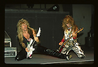 Adrian Vandenberg abd Rudy Sarzo of Whitesnake performs UNO in New Orleans Louisiana, USA