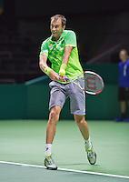 Februari 09, 2015, Netherlands, Rotterdam, Ahoy, ABN AMRO World Tennis Tournament, Lukas Rosol (CZE)<br /> Photo: Tennisimages/Henk Koster
