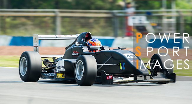 Matthew Swanepoel of South Africa and Arrows Racing drives during Formula Masters China Series as part of the 2015 Pan Delta Super Racing Festival at Zhuhai International Circuit on September 18, 2015 in Zhuhai, China.  Photo by Moses Ng/ Power Sport Images