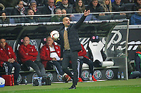 Trainer Pep Guardiola (Bayern) - Eintracht Frankfurt vs. FC Bayern Muenchen, Commerzbank Arena