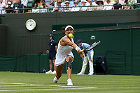 Alexandra Dulgheru (ROU) during her match against Venus Williams (USA)<br /> <br /> Photographer Rob Newell/CameraSport<br /> <br /> Wimbledon Lawn Tennis Championships - Day 3 - Wednesday 4th July 2018 -  All England Lawn Tennis and Croquet Club - Wimbledon - London - England<br /> <br /> World Copyright &not;&uml;&not;&copy; 2017 CameraSport. All rights reserved. 43 Linden Ave. Countesthorpe. Leicester. England. LE8 5PG - Tel: +44 (0) 116 277 4147 - admin@camerasport.com - www.camerasport.com