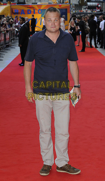 Al Murray<br /> attended the &quot;Alan Partridge: Alpha Papa&quot; UK film premiere, Vue West End cinema, Leicester Square, London, England, UK, <br /> 24th July 2013.<br /> full length navy blue t-shirt beige trousers <br /> CAP/CAN<br /> &copy;Can Nguyen/Capital Pictures