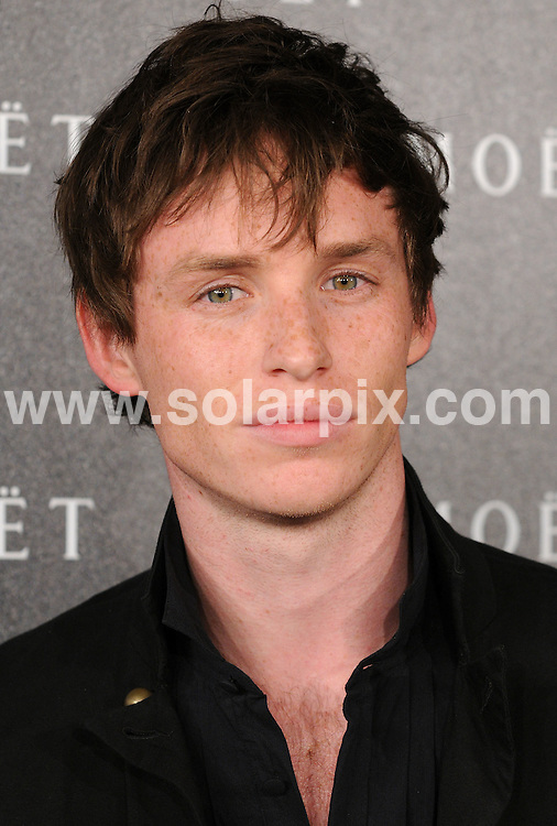 **ALL ROUND PICTURES FROM SOLARPIX.COM**.**WORLDWIDE SYNDICATION RIGHTS**.Moet and Chandon: A Tribute to Cinema party at Big Sky Studios, London, UK. 24 March 2009..This pic: Eddie Redmayne..JOB REF: 8711 SSD     DATE: 24_03_2009.**MUST CREDIT SOLARPIX.COM OR DOUBLE FEE WILL BE CHARGED**.**ONLINE USAGE FEE GBP 50.00 PER PICTURE - NOTIFICATION OF USAGE TO PHOTO @ SOLARPIX.COM**.**CALL SOLARPIX : +34 952 811 768 or LOW RATE FROM UK 0844 617 7637**