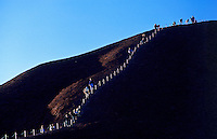 The Climb at Ayers Rock, Uluru National Park, Northern Territory,Central Australia