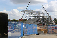 Work continues on Brentford's New Community Stadium at Lionel Road during Brentford vs Wigan Athletic, Sky Bet EFL Championship Football at Griffin Park on 15th September 2018