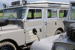 Ex Ministry of Transport and Civil Aviation Land Rover Series 1 107 inch Station Wagon. Dunsfold Collection of Land Rovers Open Day 2011, Dunsfold, Surrey, UK. --- No releases available, but releases may not be necessary for certain uses. Automotive trademarks are the property of the trademark holder, authorization may be needed for some uses.