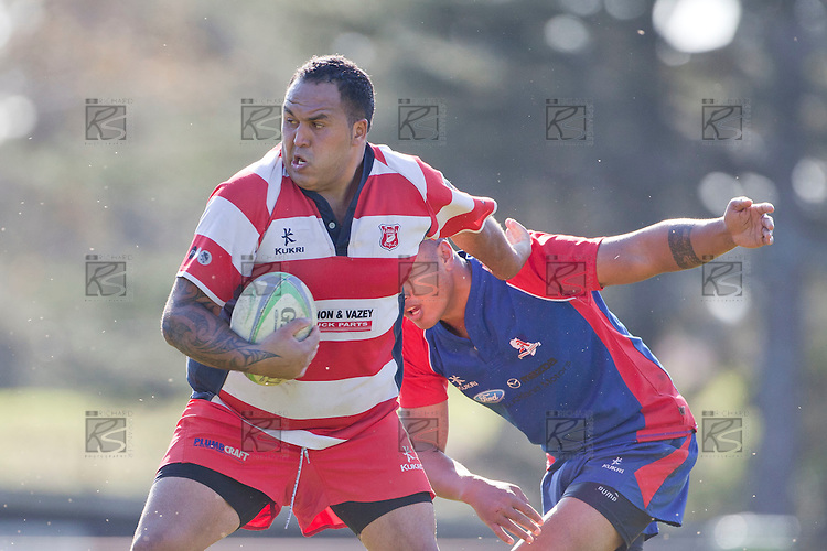 Counties Manukau Bob Chandler Memorial Premier Reserve rugby final between Ardmore Marist and Karaka, played at Bayer Growers Stadium Pukekohe on Saturday July 2nd 2011. Ardmore Marist won 37 - 11 and take the trophy for the fourth time in five years.