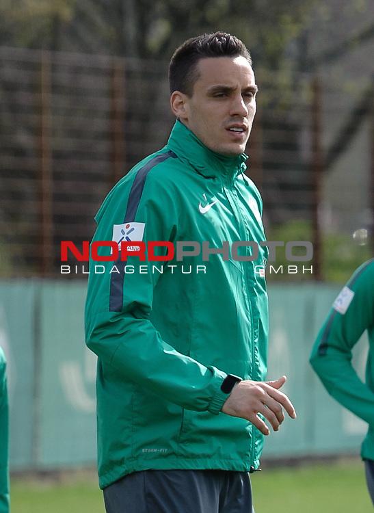13.04.2015, Trainingsgelaende, Bremen, GER, 1.FBL, Training Werder Bremen, im Bild Raphael Wolf (Bremen #1)<br /> <br /> Foto &copy; nordphoto / Frisch