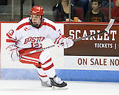 Garrett Noonan (BU - 13) scored his first collegiate goal during the second period. - The visiting Boston College Eagles defeated the Boston University Terriers 3-2 to sweep their Hockey East series on Friday, January 21, 2011, at Agganis Arena in Boston, Massachusetts.