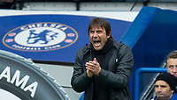 Antonio Conte Chelsea Manager during the Premier League match between Chelsea and Tottenham Hotspur at Stamford Bridge, London, England on 1 April 2018. Photo by Andy Rowland.