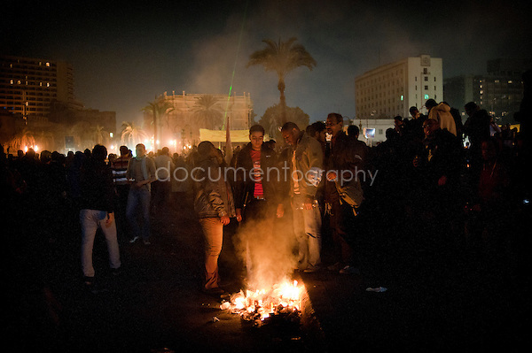 Copyright: Magali Corouge / Documentography.Cairo, Egypt, the 28 january of 2013..Clashes in the corniche in Cairo.