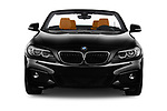 Car photography straight front view of a 2018 BMW 2 Series M Sport 2 Door Convertible