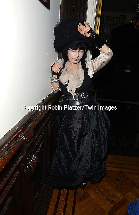Collette attends the National Arts Club Presents &quot; Charles James:Beneath the Dress&quot;  cockatail party on September 29, 2014 in New York City. The exhibit featured drawings from the collection of R. Couri Hay. <br /> <br /> photo by Robin Platzer/Twin Images<br />  <br /> phone number 212-935-0770