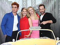NEW YORK, NY - October 07: KJ Apa,  Madchen Amick, Lili Reinhart, Luke Perry, at the CW's Riverdale photo call at New York Comic Con 2018 at the Jacob K. Javits Convention Center in New York City on October 07, 2018 <br /> CAP/MPI/RW<br /> &copy;RW/MPI/Capital Pictures
