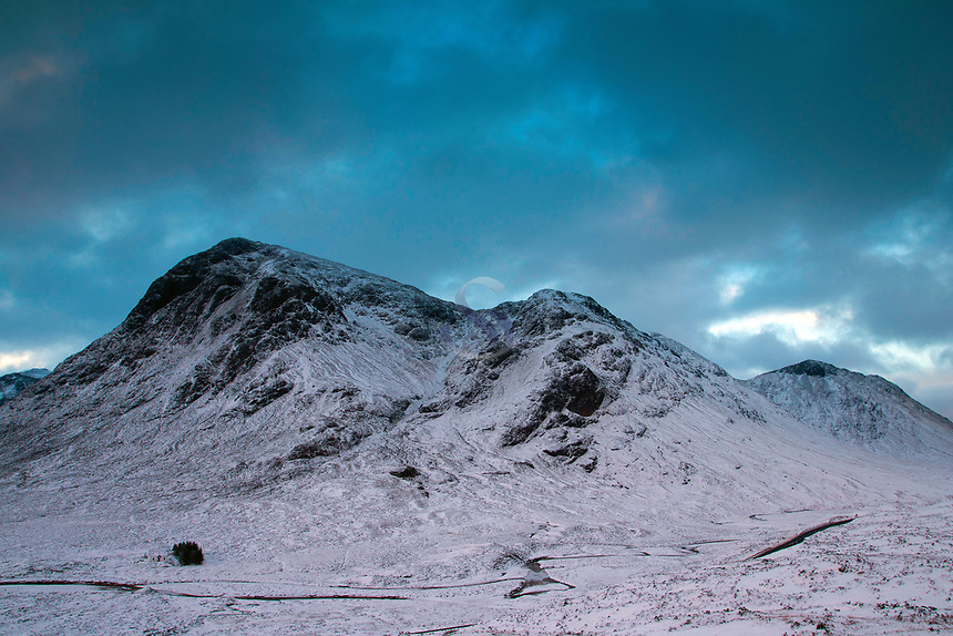 Buachaille Etive Mor from the Devil's Staircase on the West Highland Way, Glencoe, Highland