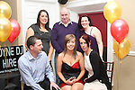 Michaela Black 18th in Harry's...(Photo credit should read Jenny Matthews www.newsfile.ie)....This Picture has been sent you under the conditions enclosed by:.Newsfile Ltd..The Studio,.Millmount Abbey,.Drogheda,.Co Meath..Ireland..Tel: +353(0)41-9871240.Fax: +353(0)41-9871260.GSM: +353(0)86-2500958.email: pictures@newsfile.ie.www.newsfile.ie.
