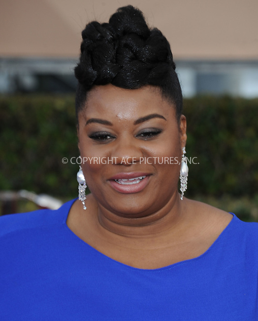 WWW.ACEPIXS.COM<br /> <br /> January 30 2016, LA<br /> <br /> Adrienne C. Moore arriving at the 22nd Annual Screen Actors Guild Awards at the Shrine Auditorium on January 30, 2016 in Los Angeles, California<br /> <br /> By Line: Peter West/ACE Pictures<br /> <br /> <br /> ACE Pictures, Inc.<br /> tel: 646 769 0430<br /> Email: info@acepixs.com<br /> www.acepixs.com