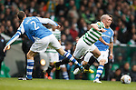Scott Brown stumbles over Dave MacKay