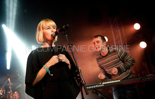 Belgian electronic music band Hydrogen Sea performing at the Radio 1 Sessies, in Antwerp (Belgium, 18/11/2015)