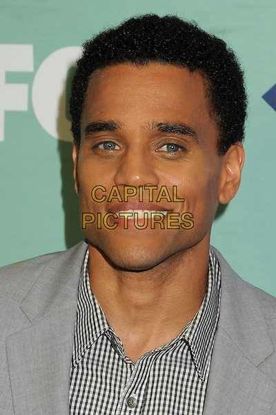 Michael Ealy<br /> Fox All-Star Summer 2013 TCA Party held at Soho House, West Hollywood, California, USA, 1st August 2013.<br /> portrait headshot smiling grey gray <br /> CAP/ADM/BP<br /> &copy;Byron Purvis/AdMedia/Capital Pictures