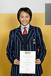 Girls Table Tennis winner Villa Yan. ASB College Sport Young Sportperson of the Year Awards 2007 held at Eden Park on November 15th, 2007.