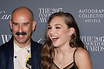 Musician Ryan Heffington and Maddie Ziegler arrive at the WSJ. Magazine 2017 Innovator Awards at The Museum of Modern Art in New York City, on November 1, 2017.