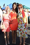 Leone Cooney and Sarah Carley at the Bellewstown Races 2011...(Photo credit should read Jenny Matthews www.newsfile.ie)....This Picture has been sent you under the conditions enclosed by:.Newsfile Ltd..The Studio,.Millmount Abbey,.Drogheda,.Co Meath..Ireland..Tel: +353(0)41-9871240.Fax: +353(0)41-9871260.GSM: +353(0)86-2500958.email: pictures@newsfile.ie.www.newsfile.ie.