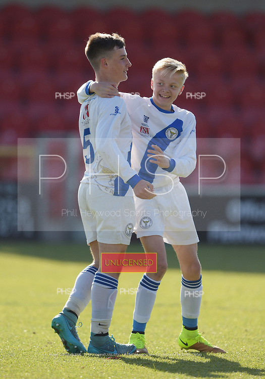 15/05/2016 Hogan Cup Final 2016 U-13's  BJFF v Clifton Rangers<br />