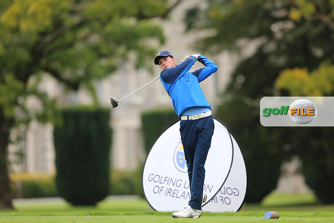 Luke O'Neill (Galway) during the AIG Senior Cup Final at the 2017 AIG Cups and Shields at Carton House. 23/09/2017.<br /> <br /> Picture: Golffile | Jenny Matthews<br /> <br /> <br /> All photo usage must carry mandatory copyright credit (&copy; Golffile | Jenny Matthews)