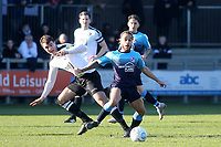 Reise Allassani of Woking in action during Dartford vs Woking, Vanarama National League South Football at Princes Park on 23rd February 2019
