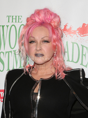 Hollywood, CA - NOVEMBER 27: Cyndi Lauper, At 85th Annual Hollywood Christmas Parade At Hollywood Blvd, California on November 27, 2016. Credit: Faye Sadou/MediaPunch