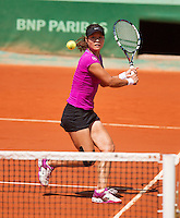 02-06-12, France, Paris, Tennis, Roland Garros, Na Li