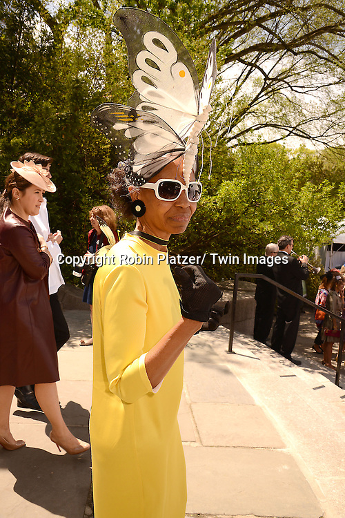 Lana Turner attends the 32nd Annual Frederick Law Olmsted Awards Hat Luncheon given by The Central Park Conservancy on May 7,2014 in Central Park in New York City, NY USA.