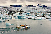 Glacier Lagoon Tours on Amphibious Vehicle, Jokulsarlon, Iceland