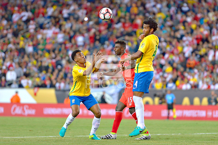 Photo during the match Brasil vs Peru, Corresponding to  Group -B- of the America Cup Centenary 2016 at Gillette Stadium.<br /> <br /> Foto durante al partido Brasil vs Peru, Correspondiente al Grupo -B- de la Copa America Centenario 2016 en el Estadio Gillette en la foto: Gil<br /> <br /> <br /> 12/06/2016/MEXSPORT/ISAAC ORTIZ