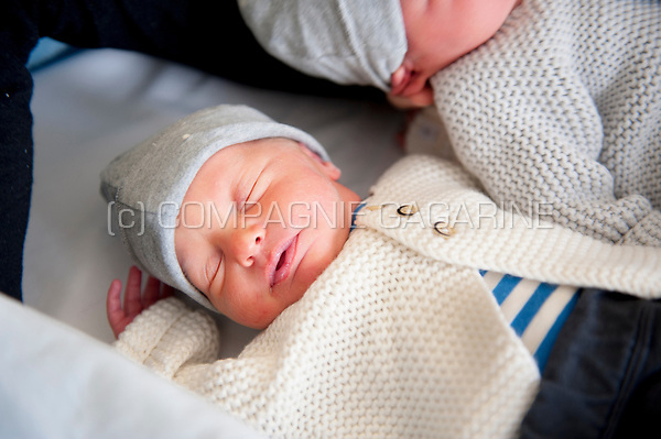 Three day old newborn twins (Heverlee, 02/01/2017)