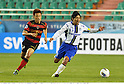 Lee Myung-Joo (Steelers), Tomokazu Myojin (Gamba),.MAY 2, 2012 - Football / Soccer :.AFC Champions League Group E match between Pohang Steelers 2-0 Gamba Osaka at Pohang Steel Yard in Pohang, South Korea. (Photo by Takamoto Tokuhara/AFLO)