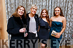 Enjoying the Kerry GAA awards night in the Ballygarry House Hotel on Saturday night.<br /> L-r, Geraldine Moriarty (Laune Rangers), Helena O'Connor (Beaufort), Ciara Brick (Dingle) and Ava Kelliher (Austin Stacks).