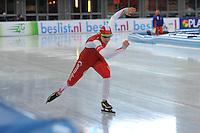 SCHAATSEN: AMSTERDAM: Olympisch Stadion, 28-02-2014, KPN NK Sprint/Allround, Coolste Baan van Nederland, Lotte van Beek, ©foto Martin de Jong