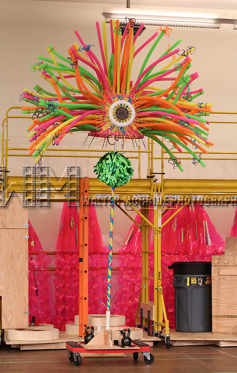 Stage props during the Rehearsal Press Preview of the New Broadway  Musical on 'SpongeBob SquarePants'  on October 11, 2017 at the Duke 42nd Street Studios in New York City.