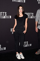 LOS ANGELES - SEP 29:  Niki Koss at the Knott's Scary Farm and Instagram Celebrity Night at the Knott's Berry Farm on September 29, 2017 in Buena Parks, CA