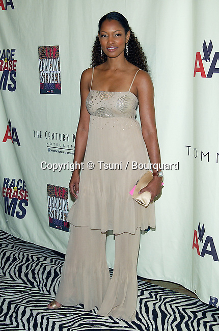 """Garcelle Beauvais arriving at the 10th Annual Race To Erase """" MS """" at the Century Plaza Hotel in Los Angeles. May 9, 2003."""